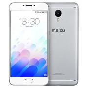 """Meizu M3 Note - Smartphone (5.5"""", cámara 13 MP, 2 GB RAM, 16 GB, Android), color blanco y plata"""