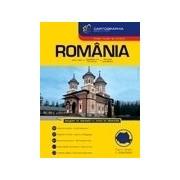 Romania. Atlas rutier si turistic