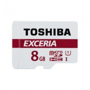 Tarjeta MicroSDHC 8GB Clase 10 UHS-I Toshiba EXCERIA M301-EA c/Adapt