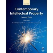 Contemporary Intellectual Property by Charlotte Waelde