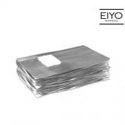 Neonail Folia do ściągania hybrydy - żelu - akrylu Foil Nail Wraps NeoNail - 50 szt