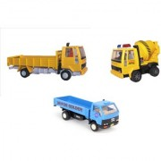 Centy Pack Of 3 Cargo Concrete Mixer Dcm Oen Truck