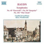 J. Haydn - Symphonies 45, 94 & 101 (0730099422222) (1 CD)