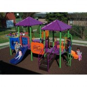 Kidstuff Playsystems, Inc. Playsystem 7135-02 Color: Green, Blue, Yellow, Orange and Purple
