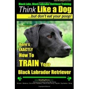 Black Labs, Black Labrador Retriever Training Think Like a Dog But Don't Eat Your Poop! Breed Expert Black Labrador Retriever Training by MR Paul Allen Pearce