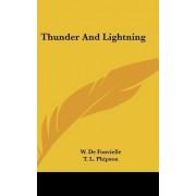 Thunder and Lightning by Wildrid De Fonvielle