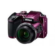 Nikon Coolpix Camera with 8GB SD Card + Camera Bag + HDMI cable + Battery Charger ( B500 , Plum)
