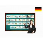 Locations and Places around Town Flashcards in German - Bildkarten - Orte
