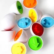 COSANSYS® 6pcs Juguetes Divertidos Huevos a Juego Inteligentes Divertido de la Sabiduría Juega el Juego de Partido para el Regalo de los Cabritos