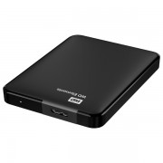 Hard Disk Drive, 1TB, USB 3.0, negru, WD Elements Portable WDBUZG0010BBK