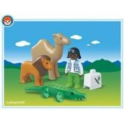 Playmobil Zoo Veterinarian - kits de figuras de juguete para niños