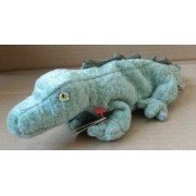 TY Beanie Babies Swampy the Alligator Stuffed Animal Plush Toy - 12 inches long by Smartbuy