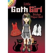 Little Goth Girl Sticker Paper Doll by Ted Menten