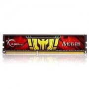 Memorie G.Skill Aegis 4GB DDR3 1333MHz PC3-10600 CL9 1.5V, F3-1333C9S-4GIS