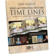 Rose Book of Bible and Christian History Time Lines by Rose Publishing