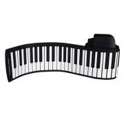 Clavier Électronique 88 Touches En Silicone Flexible Pliable Main-Rouler Roller Piano Avec Batterie Et L'adaptateur