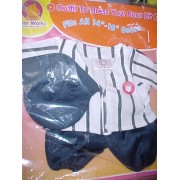 "Bear Works Custom Bear Products Baseball Cub Outfit To Dress Your Bear Kit Fits All 14"" 18"" Bears"