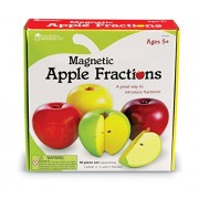 Learning Resources Magnetic Apple Fractions