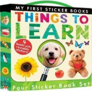 My First Sticker Books: Things to Learn by Libby Walden