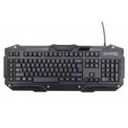 Tastatura Cu Fir Gembird KB-UMGL-01 USB Negru