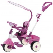 Little Tikes Triciclo Deluxe 4-em-1 Rosa