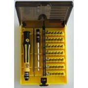 Samgu-45 en 1 juego de herramientas juego de destornilladores juego de llave de tuerca juego de reparación para los teléfonos móviles MP3-Player etc.