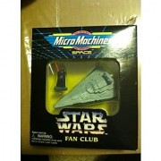 Star Wars Micro Machine Darth Vader and Imperial Star Destroyer Star Wars Fan CLub Exclusive