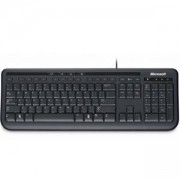 Клавиатура Microsoft Wired Desktop 600, USB Port, PL/ RO Hdwr Black, APB-00013