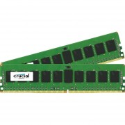 Crucial 16GB Kit (8GBx2) DDR4 2133 MT/s (PC4-2133) CL15 SR x4 ECC Registered DIMM 288-Pin Server Memory CT2K8G4RFS4213
