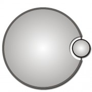 Zrcadlo ZT-D0343 d70cm