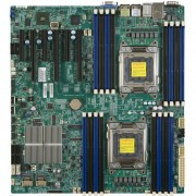 Supermicro X9DRi-F Server Motherboard - Intel C602 Chipset - Socket R LGA-2011 - 1 X Retail Pack - Extended ATX - 2 X Processor Support - 512 GB DDR3 SDRAM Maximum RAM - Serial ATA/600, Serial ATA/300 RAID Supported Controller - On-board Video Chipset - 3