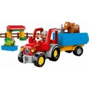 Set Constructie Lego Duplo Tractor De Ferma