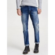 ONLY & SONS Loom Lt Blue Slim Fit Jeans Man Blå