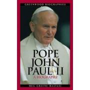 Pope John Paul II by Meg Greene