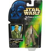 Han Solo in Endor Gear Vintage Star Wars 1996 The Power of the Force Action Figure with Original Green Card Backer by Kenner