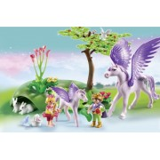 Copii si unicorni, PLAYMOBIL Princess Castle