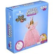 """Puzzle a forma di Puzzle 500 pezzi 24 """"x 31"""", il mago di Oz - Glinda"""
