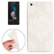 Huawei P8 Flower Pattern TPU Protective Case