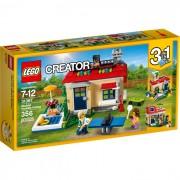 31067 Modular Poolside Holiday