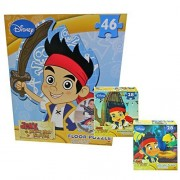 Jake and the Neverland Pirates Giant Floor Puzzle with 2 Lenticular Puzzles Bonus by Cardinal Industries