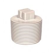 Certikin 1.5 inch Threaded Plug - White ABS Pool Pipe (CP15TP)