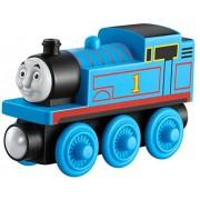 Mattel Wooden Railway Thomas - trenes de juguete (Negro, Azul, Madera)