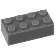 200 Stone Gray 2x4 Generic Building Bricks Alternative Option to Lego 2x4 3001 Brick