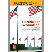 Connect Access Card for Essentials of Accounting for Govenmental and Not-For-Profit Organizations