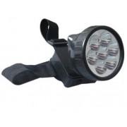 Lanterna frontala cu acumulator si 7 LEDuri yg1698