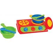 Gowi Toys Austria Double Cook Top Set, 6-Piece