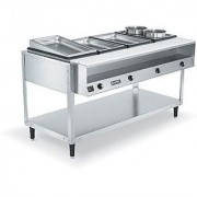 Hot Food Service Counter Bench Model