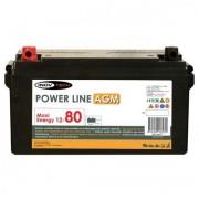 Bateria 80 Amperios AGM