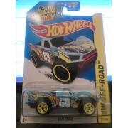 2014 Hot Wheels Hw Off Road 112/250 Baja Truck Light Blue