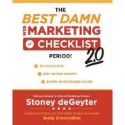 The Best Dam Web Marketing Checklist, Period! 2.0